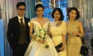 Cập nhật đám cưới Á hậu Tú Anh: Cô dâu xuất hiện xinh đẹp giữa không gian tiệc hoành tráng