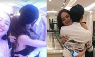 Noo Phước Thịnh lộ ảnh ôm hôn Mai Phương Thúy tại đám cưới Á hậu Tú Anh