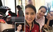 Tin sao Việt 22/8/2018: Nhã Phương lần đầu xuất hiện sau xác nhận tổ chức đám cưới, Tăng Thanh Hà đi chơi cùng vợ Phạm Anh Khoa