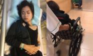 Fan sốt vó khi Lâm Vỹ Dạ ốm nặng huỷ sạch show, ngồi xe lăn nhập viện