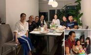 Vợ chồng Tăng Thanh Hà cùng hội bạn thân đến chúc mừng sinh nhật con gái Phạm Anh Khoa