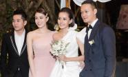 Lộ loạt ảnh đẹp trong đám cưới bí mật của Kim Chi (The Face)