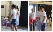 Lâu không xuất hiện cùng nhau, Trường Giang và Nhã Phương 'dính như sam' tại buổi chụp ảnh