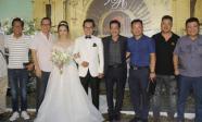 Dàn sao miền Bắc tấp nập đến dự đám cưới lần 3 của NSND Trung Hiếu và vợ 9X