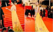 Sau 'Nữ hoàng nội y' Ngọc Trinh, thêm một mỹ nhân Việt gây sốt trên thảm đỏ LHP Cannes