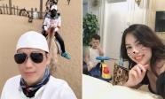 Đang đi du lịch sau khi công khai ly hôn, Việt Anh vẫn lo lắng cho con trai ở nhà bị ốm