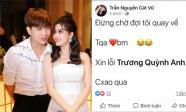 Dân mạng hoang mang về status Tim viết về Trương Quỳnh Anh lúc 1 giờ sáng