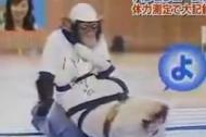 Khỉ và chó tập thể dục siêu hài