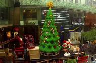 Cây thông Noel từ hàng triệu miếng ghép lego