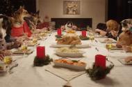 Bữa tiệc giáng sinh vui vẻ