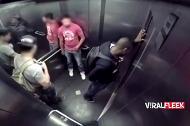 Trò đùa siêu 'kinh dị' trong thang máy