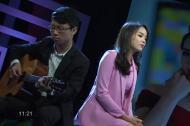 Hoa hậu Kỳ Duyên hát 'Hoang mang' trên sóng VTV