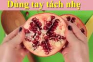 Mẹo cắt trái cây đúng chuẩn không phải ai cũng biết