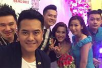 Hùng Thuận bảnh bao tham dự lễ cưới diễn viên Hoàng Anh và vợ Việt Kiều