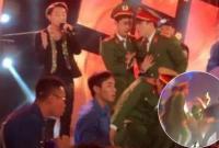 Fan chen lấn đến ngất xỉu khiến Sơn Tùng M-TP phải ngưng biểu diễn