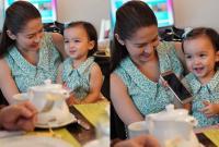 Con gái 'Mỹ nhân đẹp nhất Philippines' càng lớn càng yêu