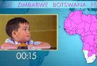 'Thần đồng' 4 tuổi kể tên 54 quốc gia ở châu Phi trong vòng chưa đầy một phút