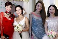 Trang Nhung khiến các cô dâu phải 'lép vế' khi xuất hiện ở đám cưới