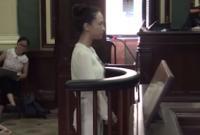 Clip Hoa hậu Phương Nga chọn im lặng trong phiên xét xử lần hai