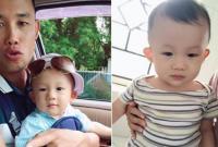 Tròn 9 tháng tuổi, con trai Hiệp Gà cực xinh xắn và đáng yêu