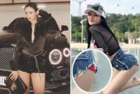 Hot girl và hot boy Việt 21/8/2017: Huyền Baby vẫn sành điệu dù sắp đi đẻ, Ngân 98 để lộ nội y kém duyên