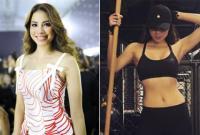 Hoa hậu Phạm Hương khéo léo đáp trả khi bị chê tăng cân