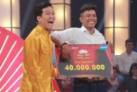 Anh chàng xe ôm khiến Trường Giang 'cười như được mùa' giành 40 triệu