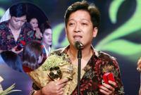 Trường Giang bất ngờ cầu hôn Nhã Phương ngay tại lễ trao giải Mai Vàng