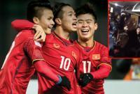 U23 Việt Nam livestream cảm ơn người hâm mộ sau chiến thắng lịch sử