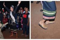 Hoa hậu H'Hen Niê mang dép lê, đốt lửa trại và nhảy múa tưng bừng cùng buôn làng