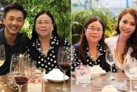 Phản ứng của Cường Đô la khi gặp gỡ mẹ của bạn gái Đàm Thu Trang