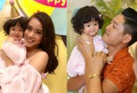 Hải Băng, Thành Đạt tổ chức sinh nhật 1 tuổi hoành tráng cho con gái