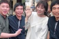 Trấn Thành, Hari Won thích thú khi được gặp thần tượng – TS Lê Thẩm Dương