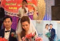 Chàng trai hát 'Tiễn em theo chồng' trong ngày cưới tình cũ và phản ứng bất ngờ của cô dâu