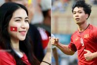 Hòa Minzy lý giải hành động cổ vũ 'tình cũ' Công Phượng trong trận đấu tại Indonesia