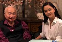 Phạm Quỳnh Anh đến thăm nhạc sĩ Lam Phương ở Mỹ