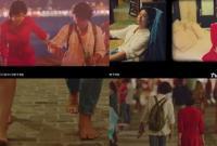 Song Hye Kyo đi chân trần, lọt thỏm khi đi cạnh mỹ nam cao 1m82 trong teaser phim mới
