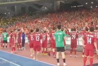 Những thước phim đặc biệt trước và sau trận chung kết lượt đi AFF CUP 2018