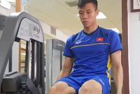 Cận cảnh các tuyển thủ Việt Nam tập gym chuẩn bị cho trận tứ kết