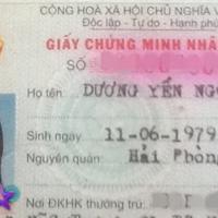 Tủ hồ sơ sao Việt (P15): Dương Yến Ngọc