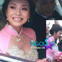 Toàn cảnh: Jennifer Phạm rạng rỡ bên chồng mới tại lễ rước dâu