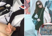 Đăng ảnh nắm tay Kim Lý, Hà Hồ khoe khéo loạt đồ hiệu hơn 100 triệu mới sắm