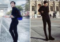 Khoe hình đẹp ở Paris, Trấn Thành bị fans la ó vì 'vừa độn, vừa kéo' quá lố