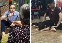 Tin sao Việt 20/9/2017: Mỹ Tâm giản dị ngồi đất ăn chôm chôm, con trai Khánh Thi còn nhỏ nhưng đã được 'khổ luyện'