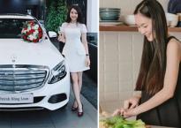 Hot girl và hot boy Việt 22/9/2017: Hồng Loan tậu xế hộp tiền tỷ, Helly Tống dính nghi án mang bầu