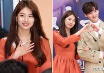 Suzy đẹp như nữ thần, sánh vai bên hoàng tử truyện tranh Lee Jong Suk