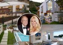 Hé lộ căn biệt thự xa hoa gần 160 tỷ đồng ông trùm Playboy để lại cho vợ trẻ