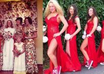 Cô dâu bị lép vế ngay lập tức khi hội phù dâu này xuất hiện