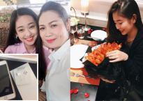 Hot girl và hot boy ngày 17/10/2017: Thúy Vi tặng mẹ iphone 7 plus, Nam Thương kỷ niệm 2 năm sống chung cùng chồng