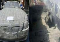 Người đàn ông nghèo khiến ai cũng bất ngờ khi kỳ công điêu khắc một tảng đá thành siêu xe BMW